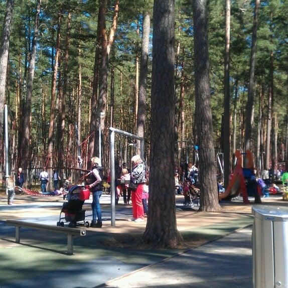 Photo taken at Dzintaru Mežaparks by Ralfs B. on 5/6/2013