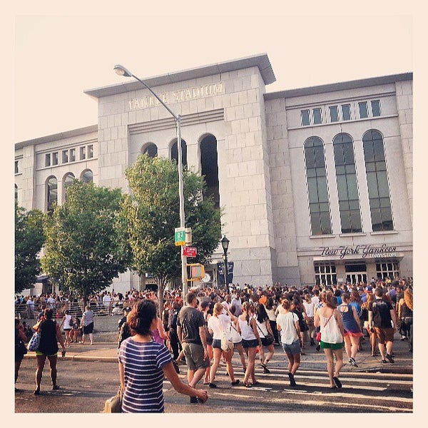 Photo taken at Yankee Stadium by Karla V. on 7/19/2013