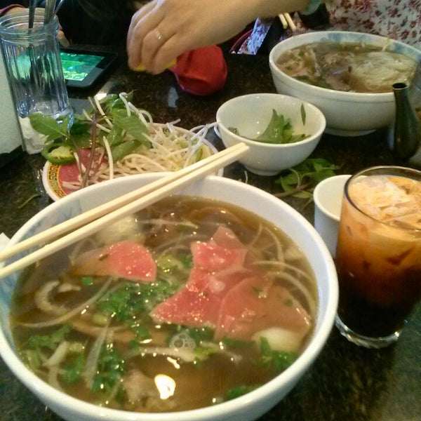 Photo taken at Pho Kim Long by Terry C. on 4/14/2013