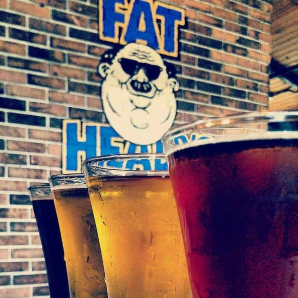 Photo taken at Fat Head's Brewery & Saloon by John R. on 7/19/2013