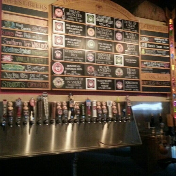 Photo taken at Fat Head's Brewery & Saloon by John R. on 11/17/2014