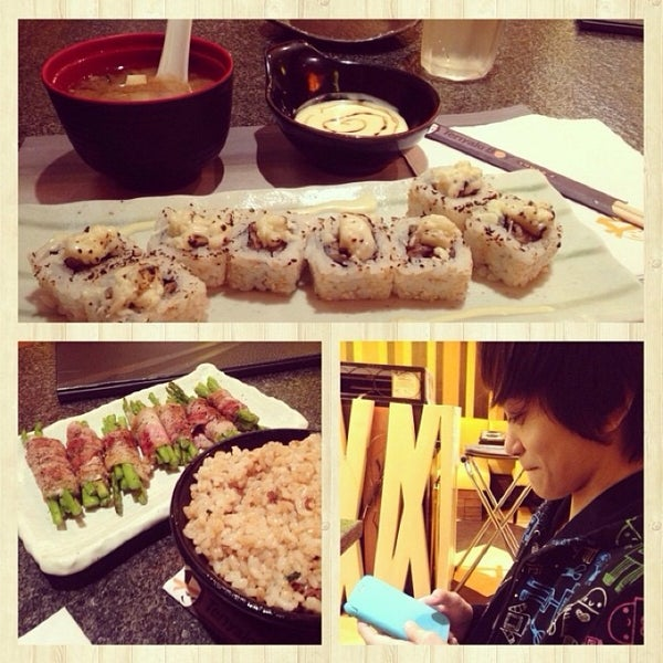 Photo taken at Teriyaki Boy by Je O. on 10/22/2014