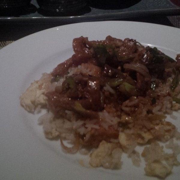 Pan asian food not good