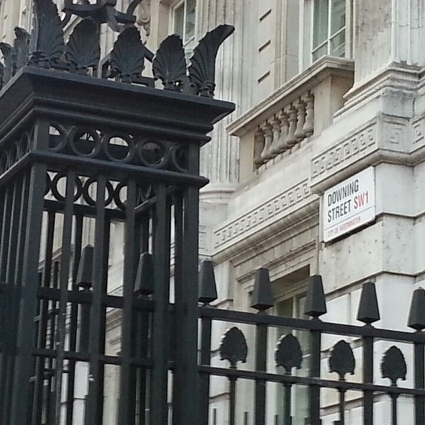 Photo taken at 10 Downing Street by Annabelle A. on 12/7/2013