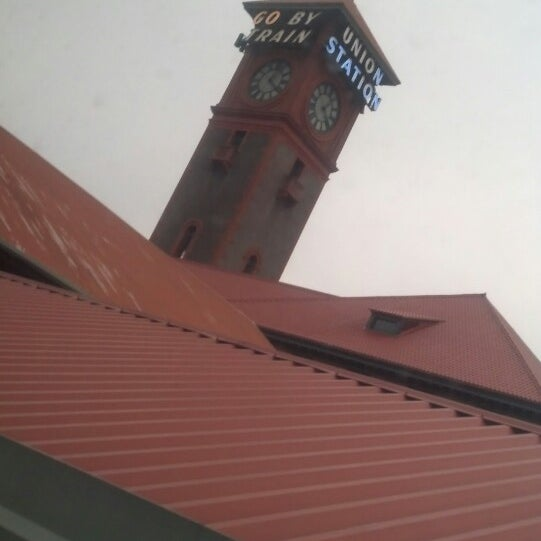 Photo taken at Union Station Amtrak (PDX) by Rachel L. on 1/15/2014