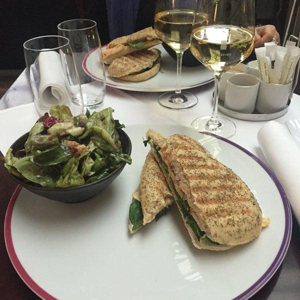 Photo taken at Holbein's Café-Restaurant by Semra C. on 3/29/2016