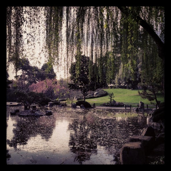 Photo taken at Japanese Friendship Garden by Carey P. on 3/12/2013