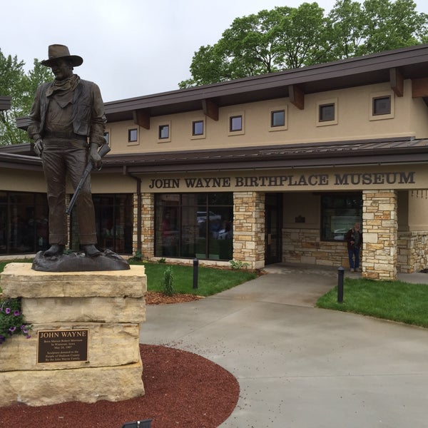 Photo taken at John Wayne Birthplace Museum by Chris S. on 5/24/2015