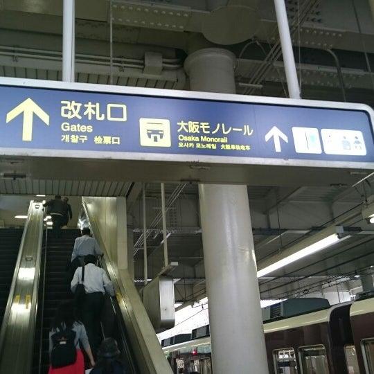 Photo taken at 阪急 南茨木駅 (Minami-ibaraki Sta.) (HK-68) by ぐれます A. on 4/4/2015
