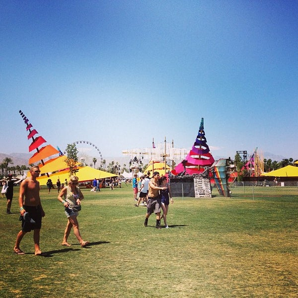 Photo taken at Coachella Valley Music and Arts Festival by Erin G. on 4/16/2013