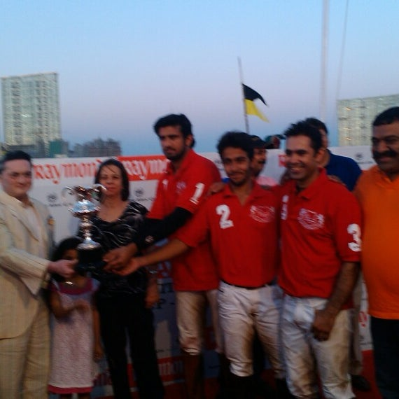Photo taken at Mahalaxmi Race Course (Royal Western India Turf Club) by GB L. on 3/29/2013