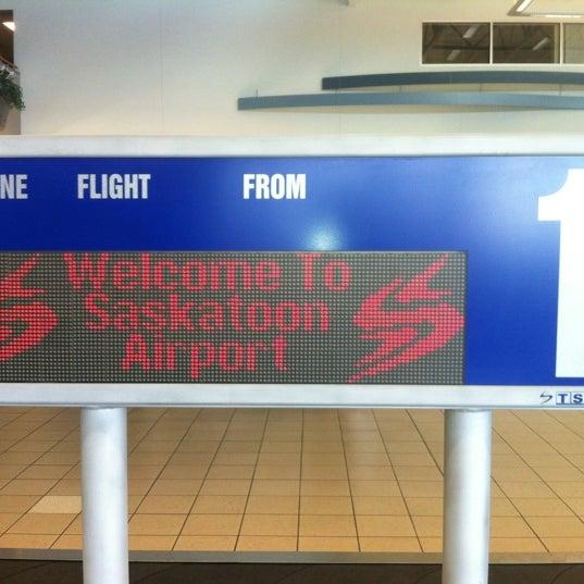 Photo taken at Saskatoon John G. Diefenbaker International Airport (YXE) by Shane G. on 10/8/2012