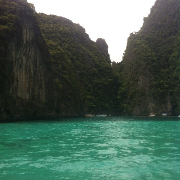 Photo taken at Phi Phi Island by Toni L. on 7/10/2013