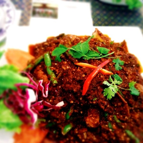 Crying Pork Thai Food