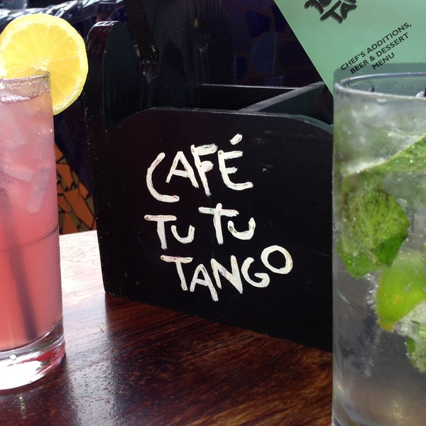 Photo taken at Café Tu Tu Tango by Ann T. on 4/18/2013