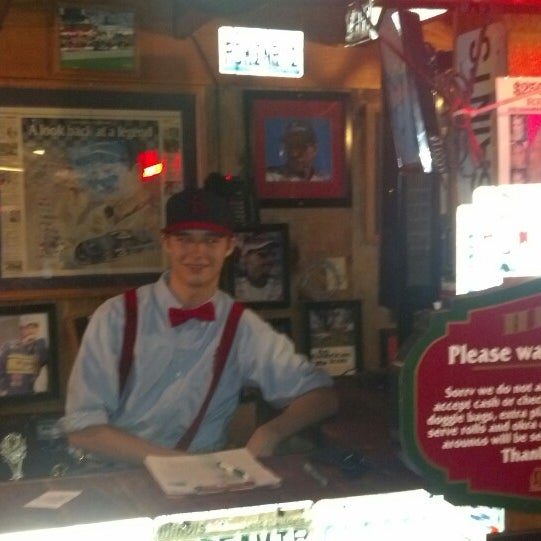 Photo taken at Lambert's Cafe by H A. on 8/24/2013