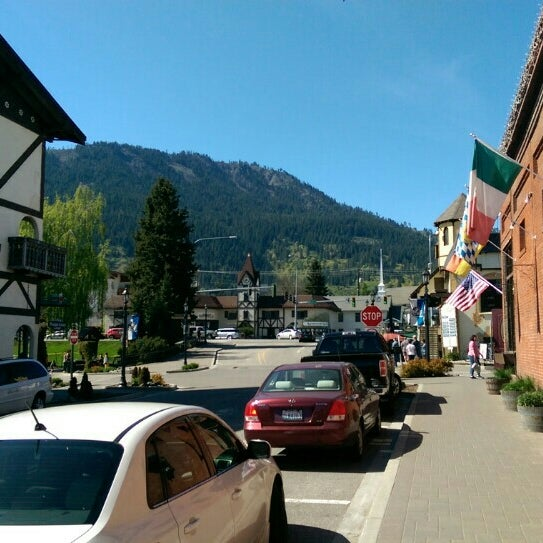 Photo taken at Town of Leavenworth by Dmytro P. on 4/19/2015