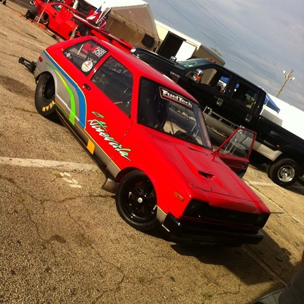 Photo taken at Atco Raceway by OJ P. on 7/20/2014