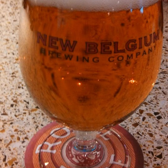 Photo taken at New Belgium Brewing Hub by El R. on 4/21/2013