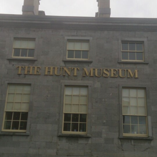 Photo taken at The Hunt Museum by Tom C. on 4/21/2013