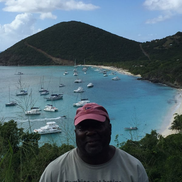 Photo taken at Jost Van Dyke Island by Benjamin D. on 12/27/2015