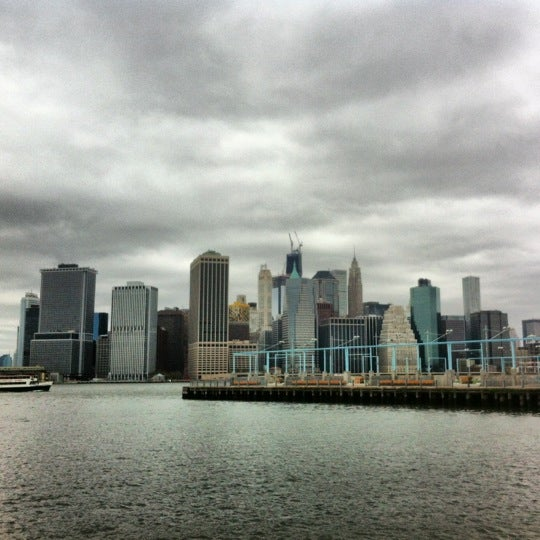 Photo taken at Brooklyn Bridge Park - Pier 6 by Bri J. on 10/28/2012