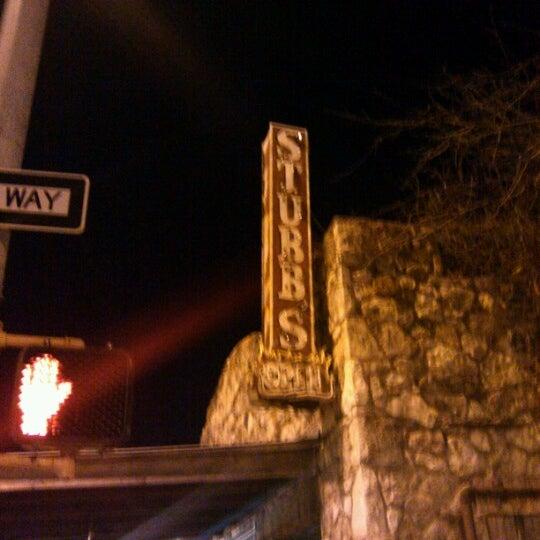 Photo taken at Stubb's Bar-B-Q by John H. on 2/13/2013