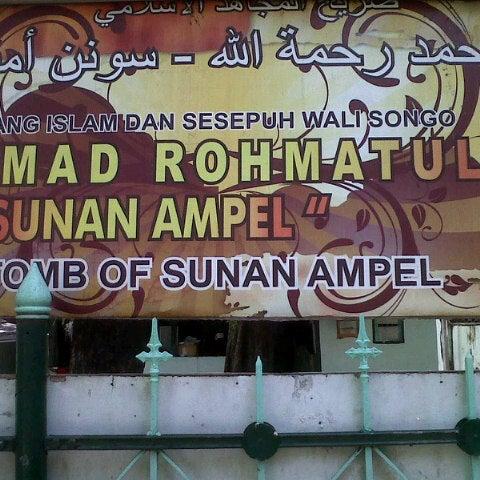 Photo taken at Kawasan Wisata Religi Makam Sunan Ampel by Astro B. on 4/28/2013