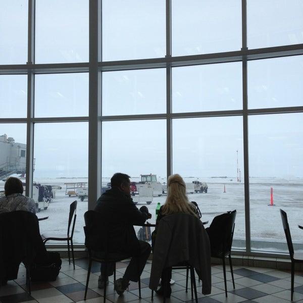 Photo taken at Saskatoon John G. Diefenbaker International Airport (YXE) by David B. on 2/10/2013