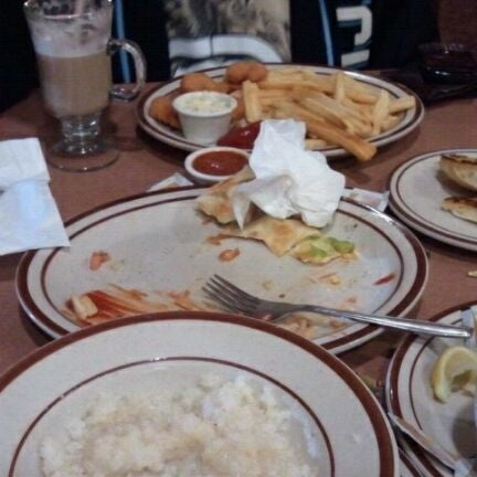 Photo taken at Denny's by Mario H. on 11/9/2011