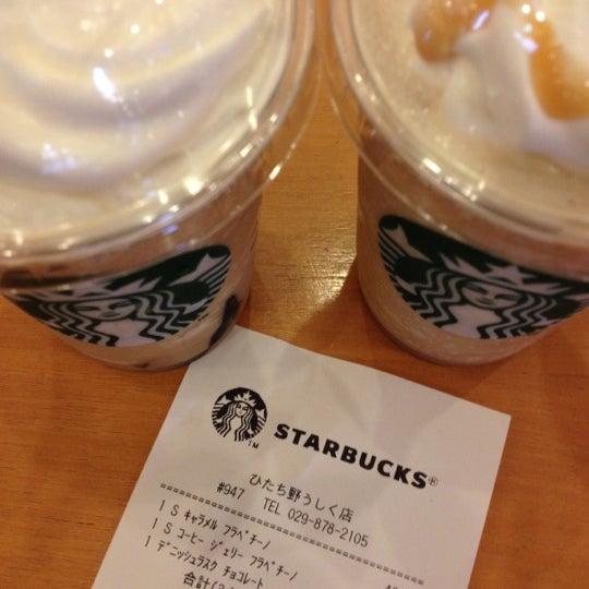 Photo taken at Starbucks Coffee ひたち野うしく店 by Masashi S. on 5/6/2012