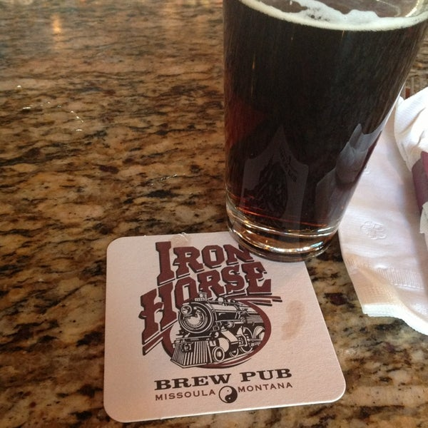 Photo taken at Iron Horse Brew Pub by Solange W. on 5/24/2013