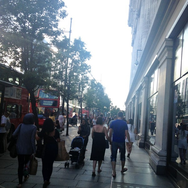 Photo taken at Oxford Street by Alexander N. on 7/10/2013