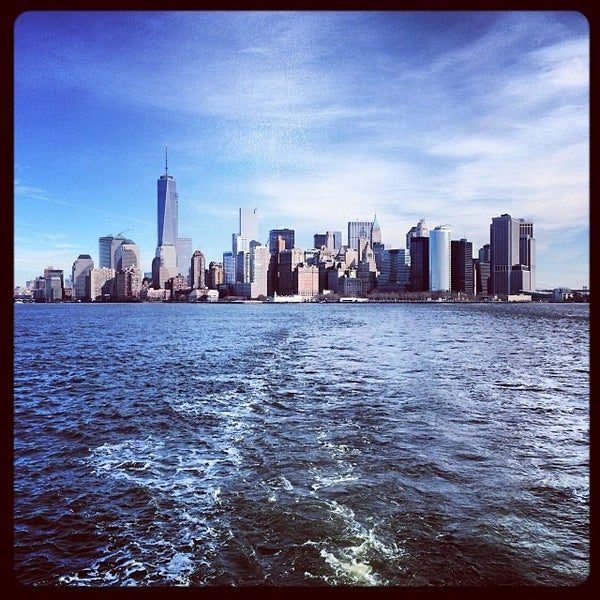 Photo taken at New York Harbor by Dirk D. on 1/28/2014