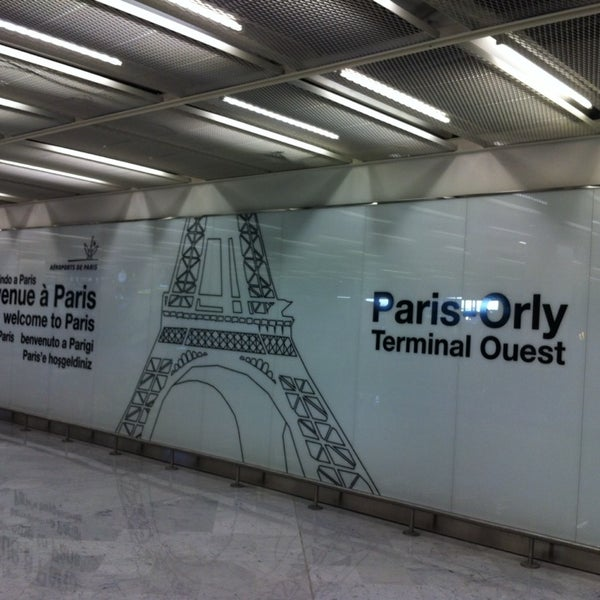 Photo taken at Aéroport de Paris-Orly (ORY) by Anaïs L. on 10/4/2013