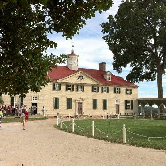 Photo taken at George Washington's Mount Vernon Estate, Museum & Gardens by Michael Q. on 9/15/2012