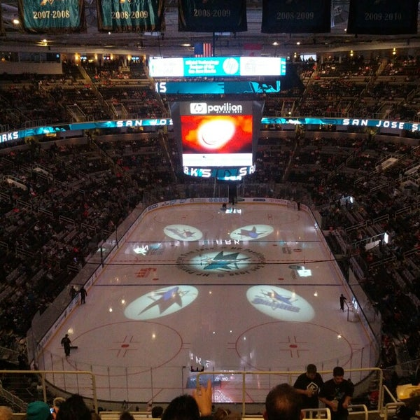 Photo taken at SAP Center at San Jose by Anthony A. on 3/29/2013