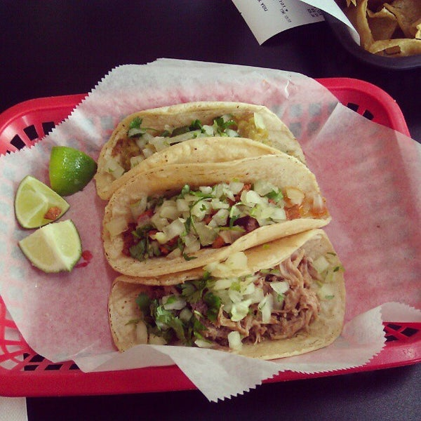 Photo taken at Tia Cori's Tacos by John on 3/11/2013