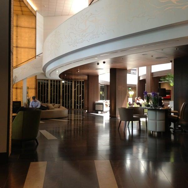 Photo taken at Kempinski Hotel Corvinus Budapest by 🇷🇺🐝Natalia F🐝🇷🇺 on 7/2/2013
