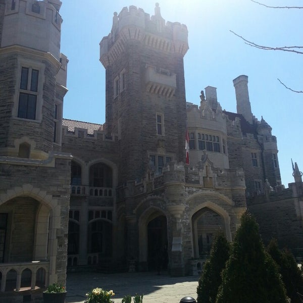 Photo taken at Casa Loma by David J. on 4/19/2014