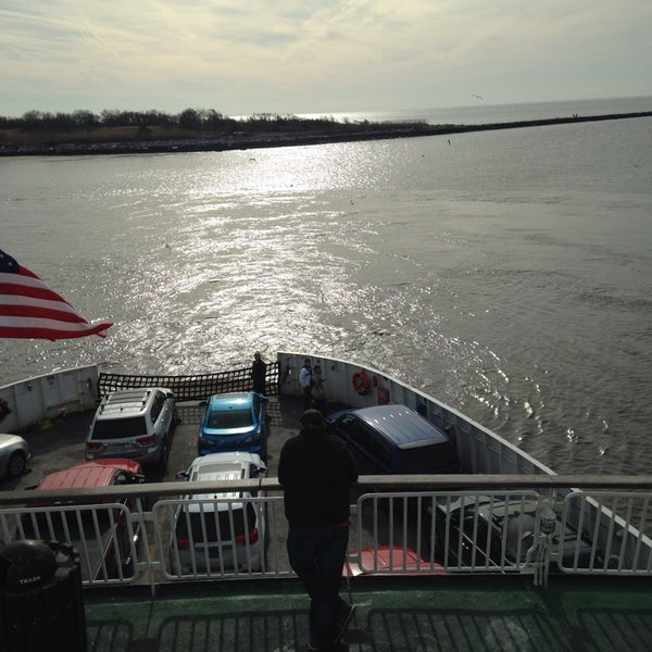 Photo taken at Cape May-Lewes Ferry | Cape May Terminal by Christy S. on 2/1/2014
