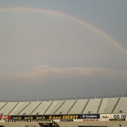 Photo taken at Dover International Speedway by Nathan B. on 9/28/2012