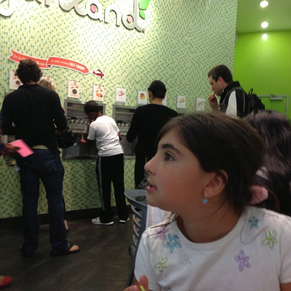 Photo taken at Yogurtland by Angela A. on 5/11/2013