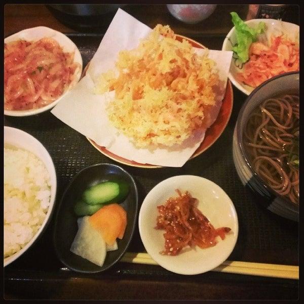 Photo taken at 食堂さくら屋 by k_nashi on 3/5/2014