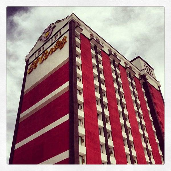 Photo taken at El Cortez Hotel & Casino by Caleb E. on 4/6/2013