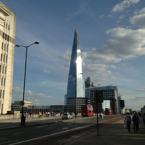 Photo taken at London Bridge by The Ellie P. on 6/2/2013