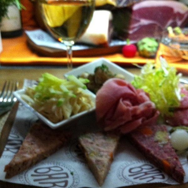 Photo taken at Bar Boulud by Mark E S. on 1/31/2013