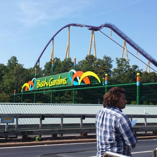 Photo taken at Busch Gardens Williamsburg by Mihaela R. on 9/13/2013