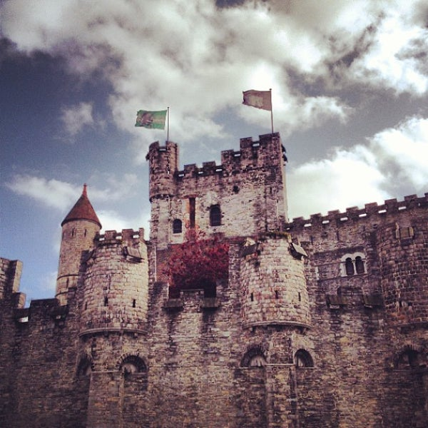 Photo taken at Gravensteen / Castle of the Counts by Aleksandr S. on 5/10/2013