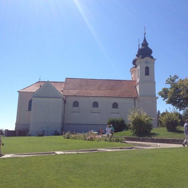Photo taken at Tihanyi Apátság by Timi 😺 V. on 8/26/2016